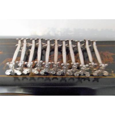 12 Portes Couteaux Christofle En Metal Argente