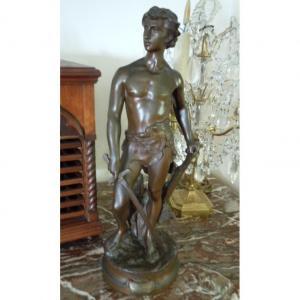 Bronze Le Devoir Par Adrien Gaudez