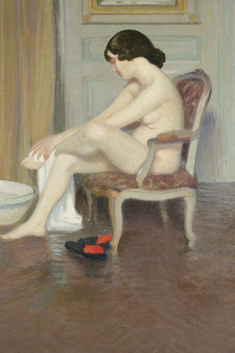 Nu Au Tub. Gustave Poetzsch 1870-1950