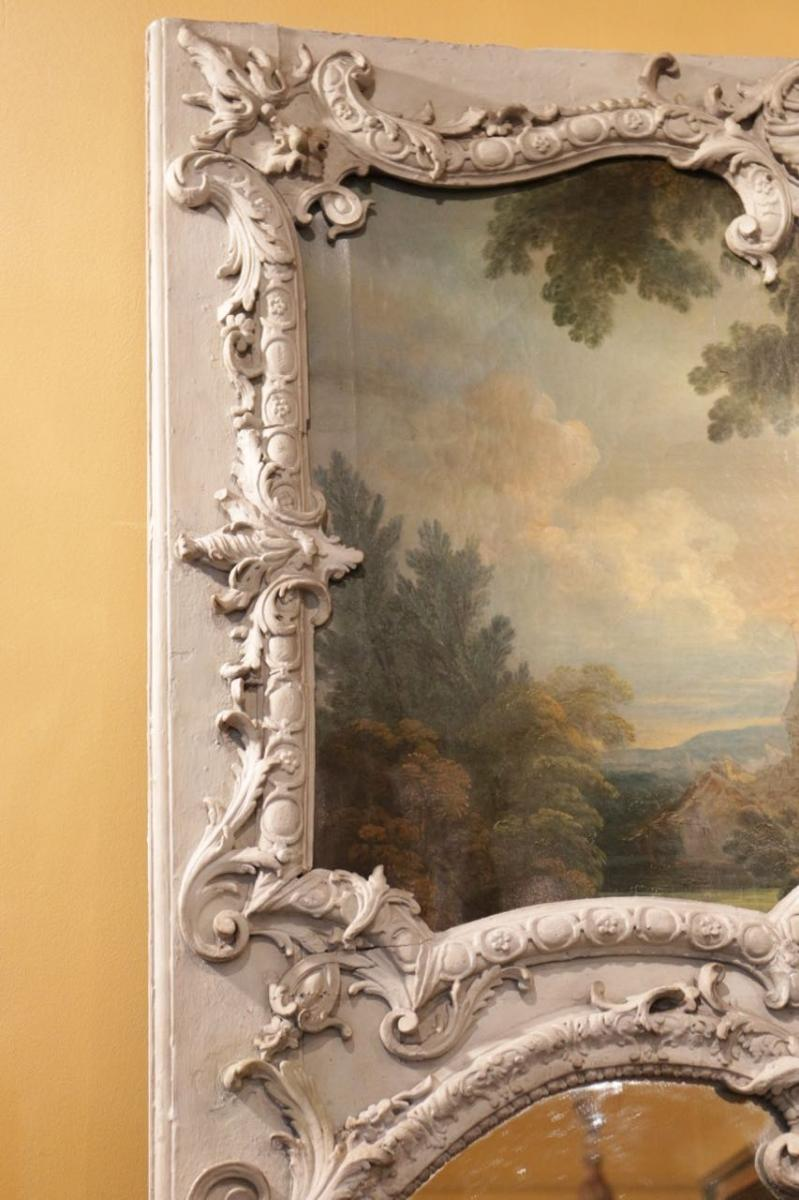 Trumeau d'époque Louis XV