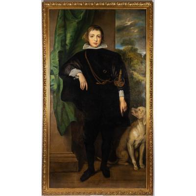 Portrait De Carlo Emanuel D'este. Alexandre Fischer 1869-1942