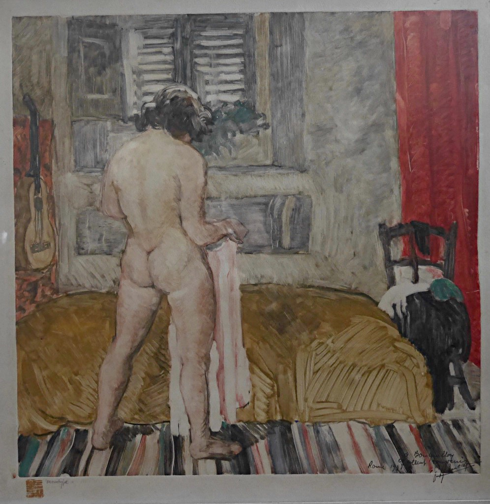 Pierre Robert Lucas Monotype Nude Woman In An Interior Prix De Rome Engraving-photo-2