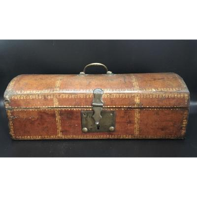 Leather Box XVIIIth Babin Young Bordeaux Label
