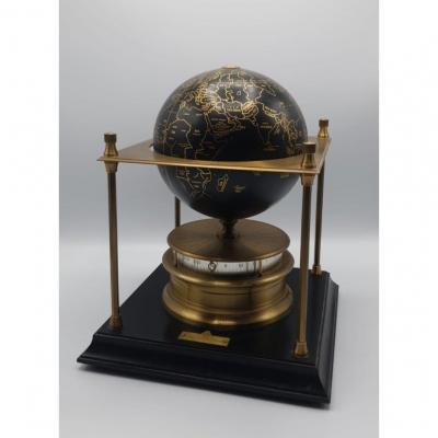 Globe Terrestre Laiton The Royal Geographical Society Mappemonde Pendule