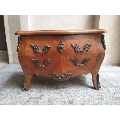 Small Chest Of Drawers Box In The Taste Of The Eighteenth Century