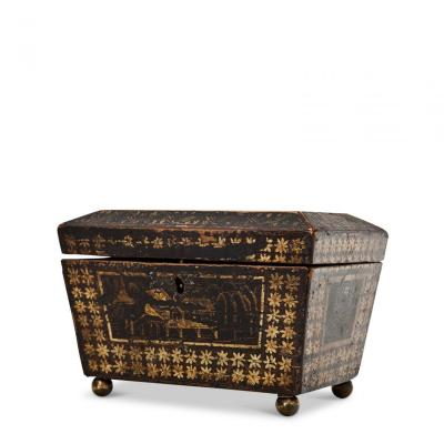 Chinoiserie Chest, 1st Half 19th Century