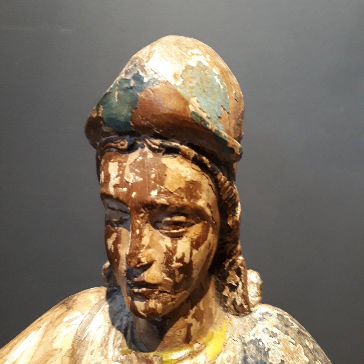 Sculpture Espagnole d'Un Conquistador-photo-6
