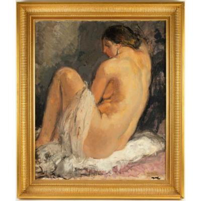 Painting D, A Female Nude
