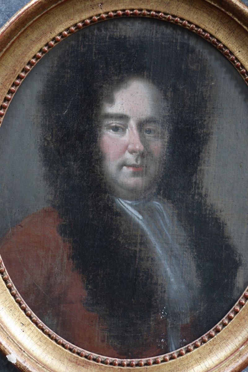 Portrait d'un homme noble ,fin XVII début du  XVIII siècle.-photo-1