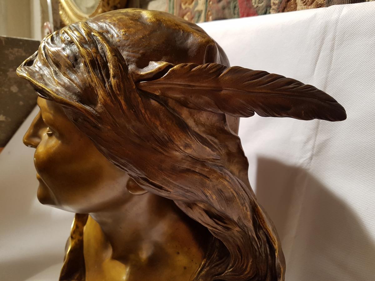 Sculpture  La Cigale De L.bohn-photo-4