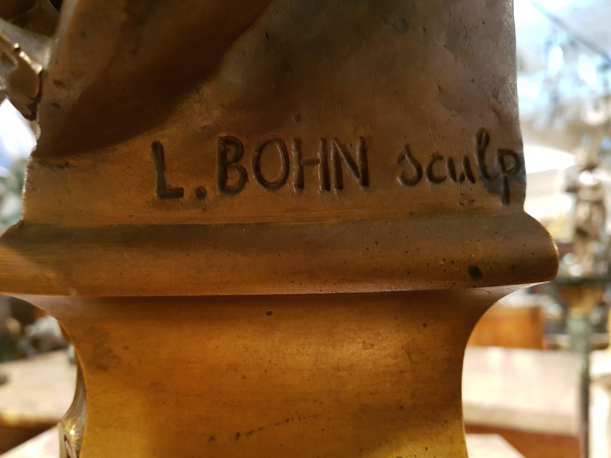 Sculpture  La Cigale De L.bohn-photo-1