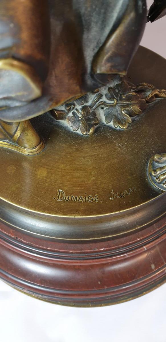 Bronze Sur Socle Tournant-photo-4
