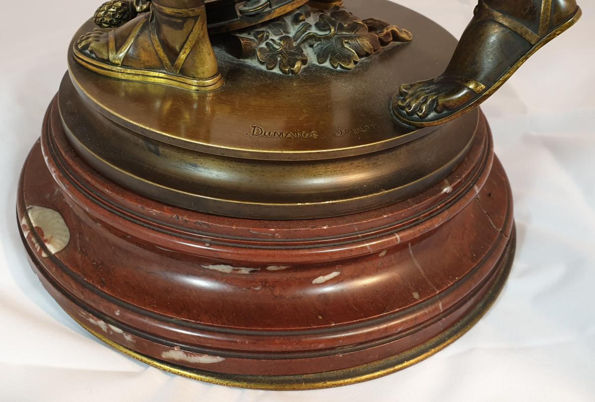 Bronze Sur Socle Tournant-photo-1