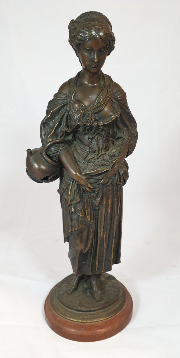 Statue Woman With Broken Jug