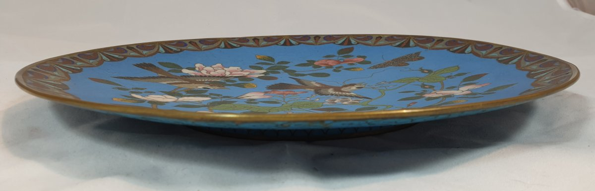 Flower And Bird Plate-photo-3