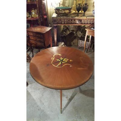 Tripod Pedestal Table