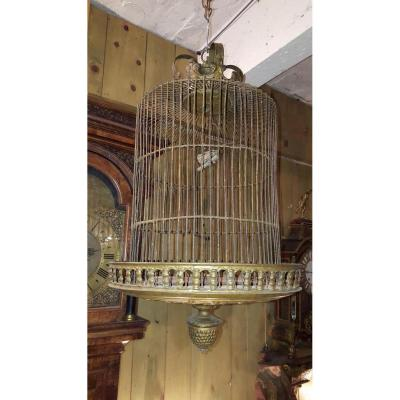 Cage à Oiseaux en Laiton