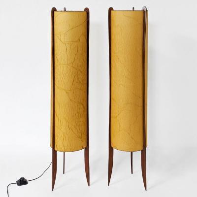 Pair Of Danish Floor Lamps Circa 1960