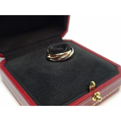Cartier Trinity Ring 3 Ors 18 Carats 750/1000 5.22 Grams