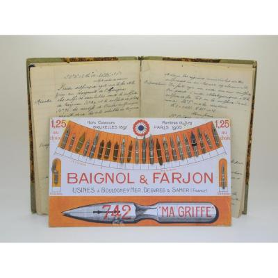 Skate & Feathers Baignol Farjon From 1900