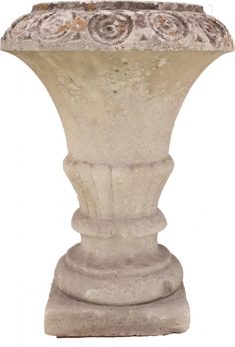 Vases De Jardin En Pierre