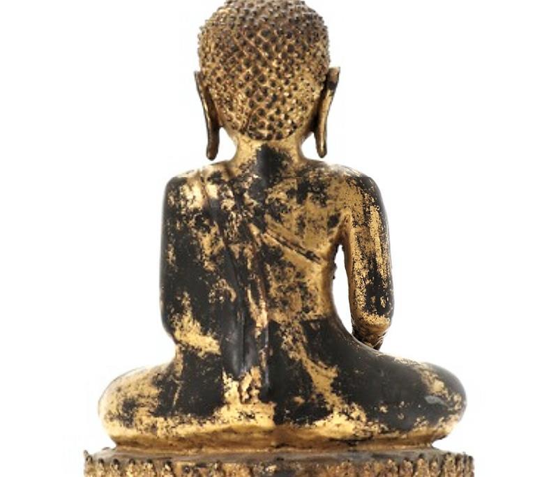 Bouddha En Bronze-photo-2