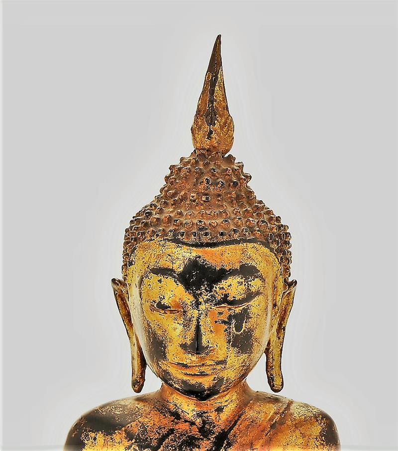 Bouddha En Bronze-photo-4