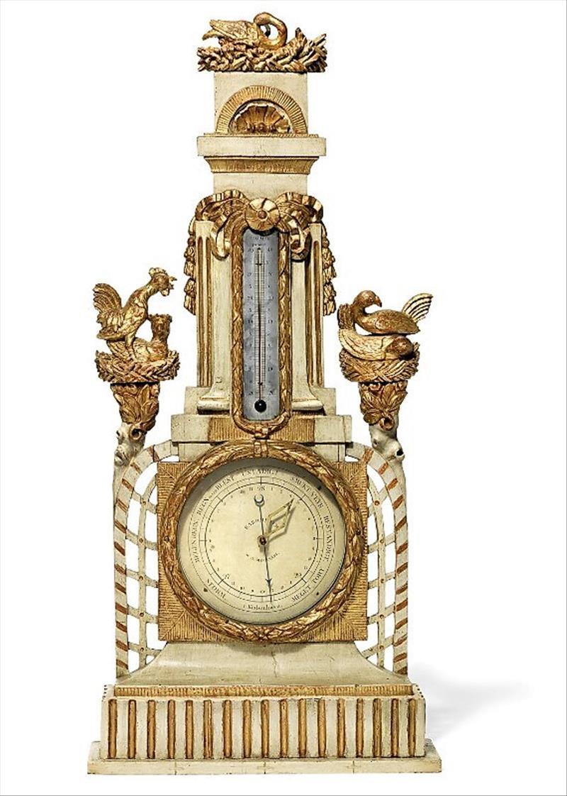 Danish Barometer Of The XVIIIth Century