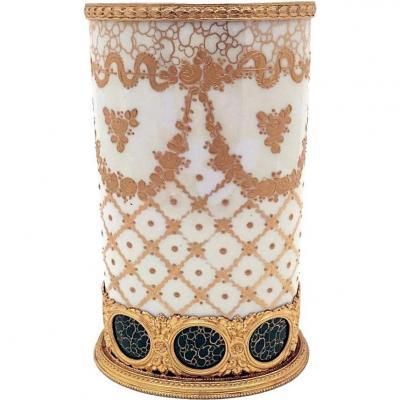 Limoges Porcelain Planters