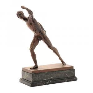 Bronze d'Un Athlète Romain