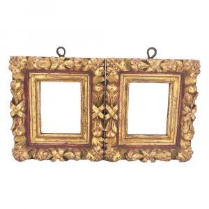 Paire De Miroirs Espagnols Du XVIIIe Siècle