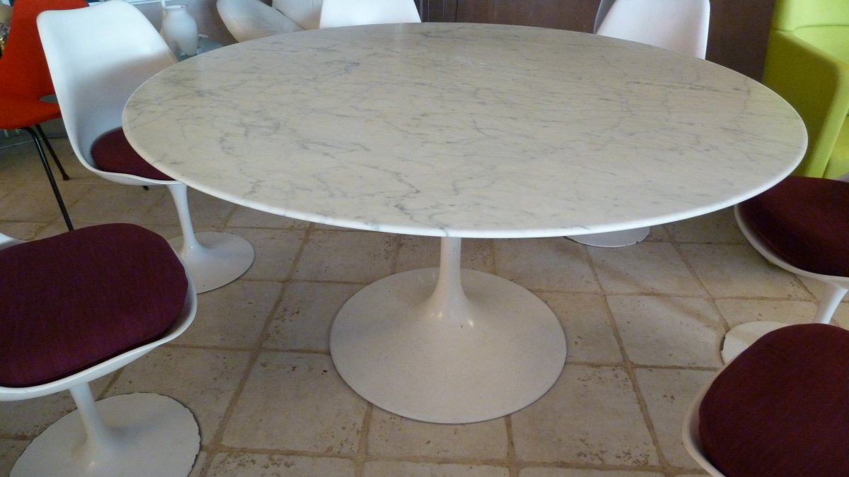 Tulip Table 6 By Eero Saarinen 6s - Dinner Tables