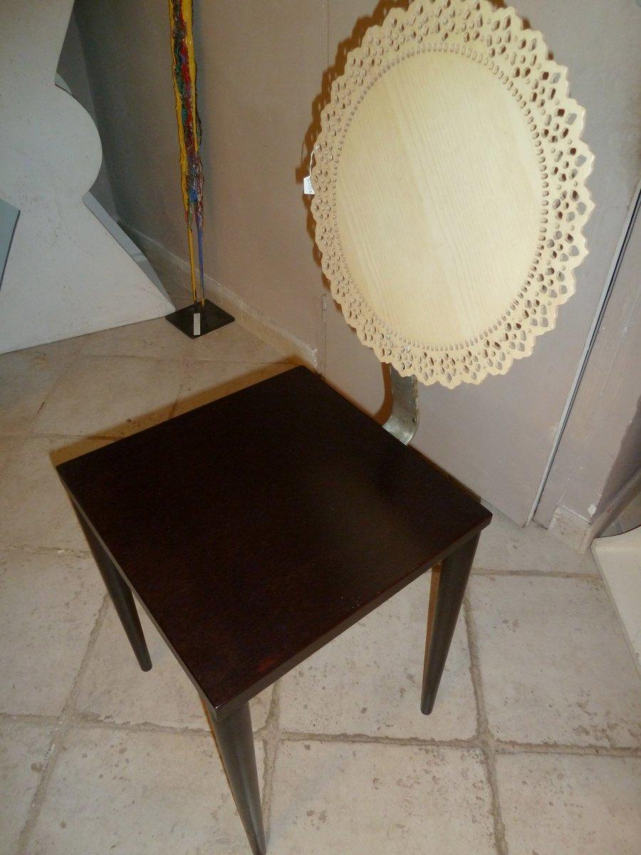 "Chair ""tatlim"" Design Marco Mencacci 1988"