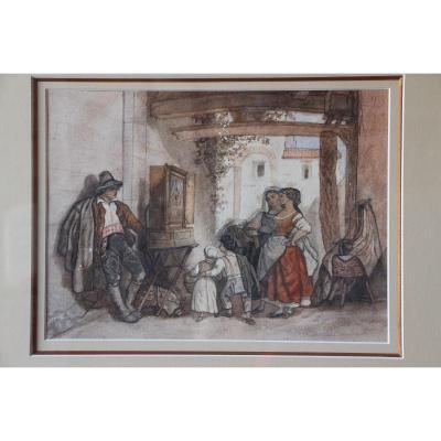 Deux aquarelles italiennes