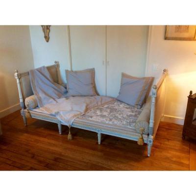 lit ancien sur proantic louis xvi directoire. Black Bedroom Furniture Sets. Home Design Ideas