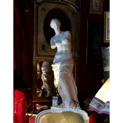 Plaster Sculpture From The Venus Of Milo Late Nineteenth