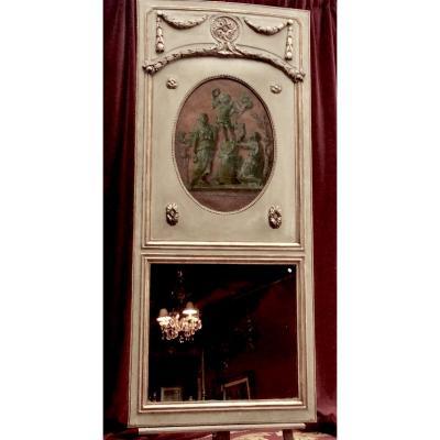 Trumeau D'entre Deux D'époque Napoléon III