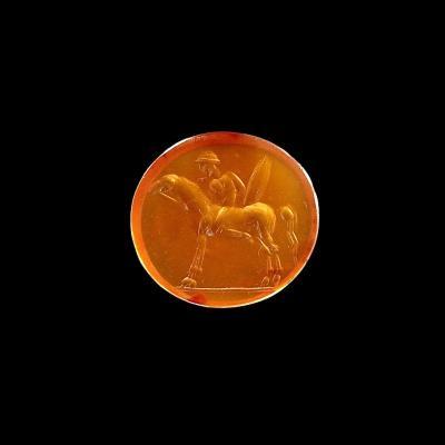 Roman Carnelian Intaglio