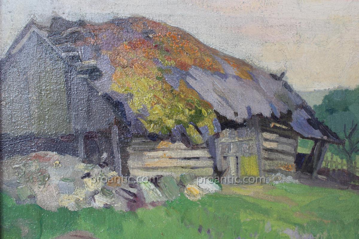 Huile sur toile Jean-Emil KOSA Jr. 1903-1968