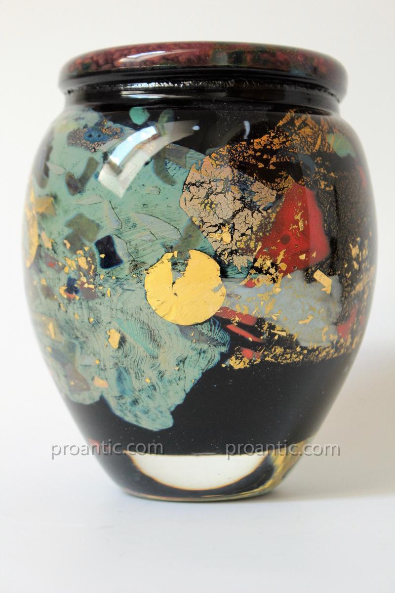 Vase De Jean-Claude Novaro 1943-2014