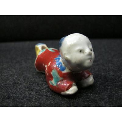 Sifflet En Porcelaine Imari