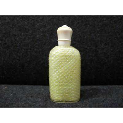 Clichy Glass Salt Bottle