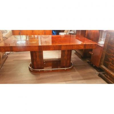 Rio Rosewood Art Deco Dining Table