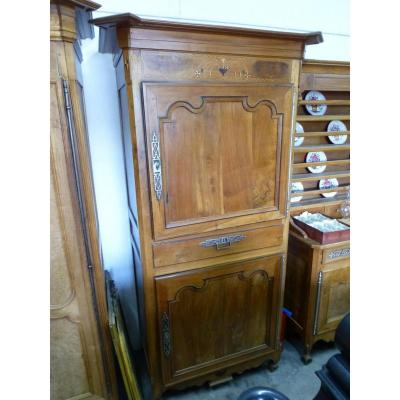 Cabinet Or Man Standing Cherry