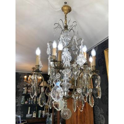 Chandelier With Tassels 9 Lights Lot N ° 8
