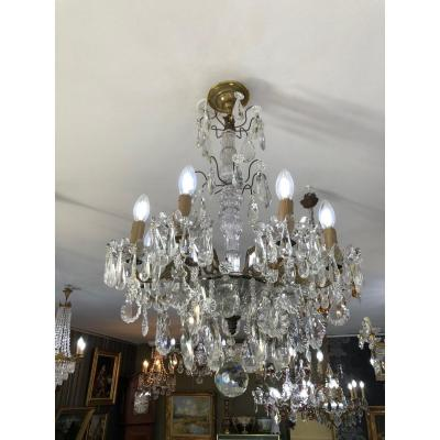 Chandelier With Tassels 8 Lights Lot N ° 9