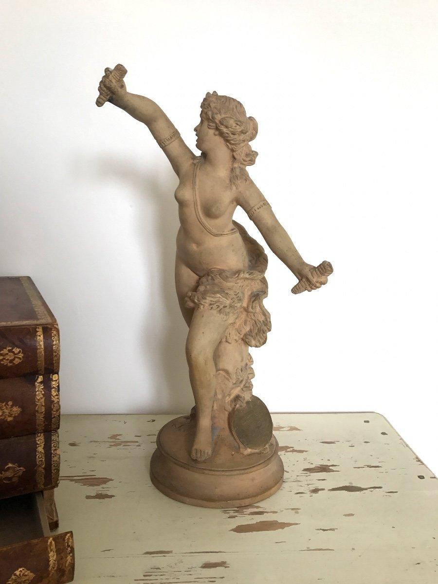 XIXth Century Terracota Sculptures-photo-3