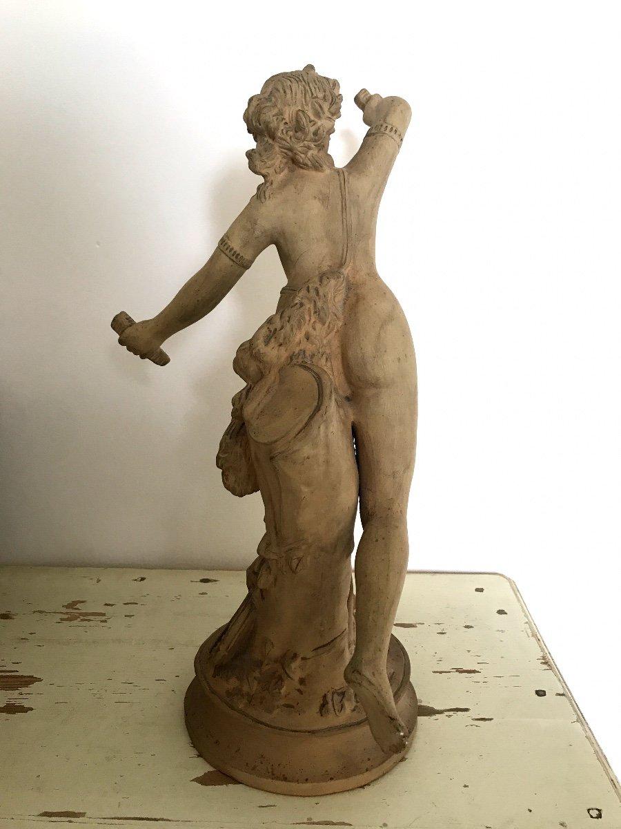XIXth Century Terracota Sculptures-photo-4