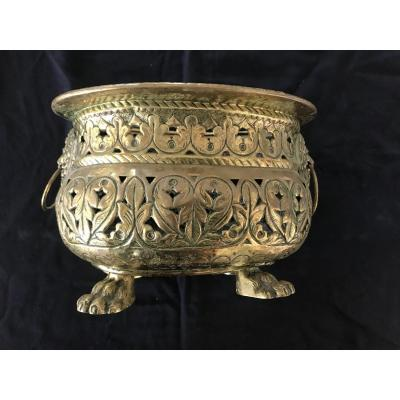 Brass Planter (19th C.)