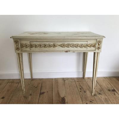 Small Painted Wood Table (18th)